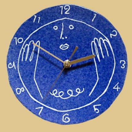 ルリ色の時計
